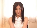 Hot Japanese amateur Yuuki Aina gives a steamy blowjob