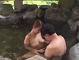 Kinky outdoor sex fun involving hot Asian mature