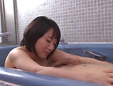 Bathtub porn play with insolent Kaho Shibuya picture 11