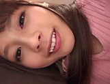 Japanese babe is making a POV porn video