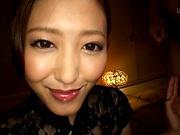 Mizuno Asahi looks awesome in her sexy dress