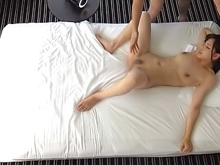 Sensual Asian brunette works dick like a goddess