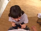Pigtailed schoolgirl is not a nice teen
