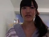 Hardcore Asian Konno Amina gives a steamy hot blowjob