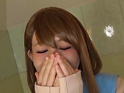 Kinky hottie Konishi Marie in raunchy blowjob scene