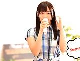 Hot babe Sakisaka Karen makes a dude cumshot picture 11