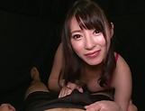 Hakii Haruka blows a palpitating ramrod picture 13