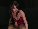 Hakii Haruka blows a palpitating ramrod picture 15