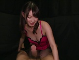 Hakii Haruka pleasures a dude to eruptive delights picture 15