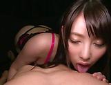 Hakii Haruka blows a palpitating ramrod