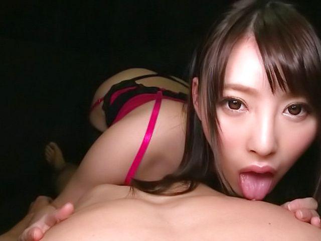 Hakii Haruka pleasures a dude to eruptive delights