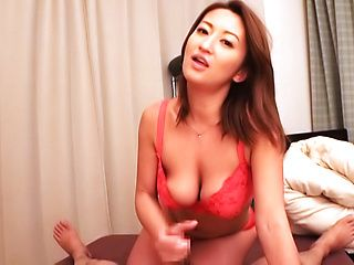 Superb POV blowjob with amazing Fukiishi Rena