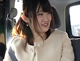 Hot Japanese lovie pleasured by her sex toys picture 5