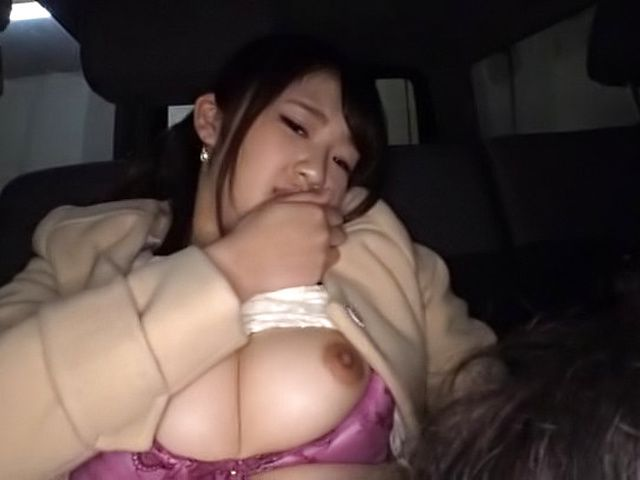 Hot Japanese lovie pleasured by her sex toys