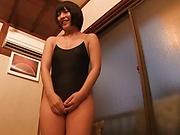 Naughty schoolgirl is good at sucking