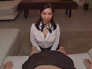 Sasakura is a smoking hot office lady