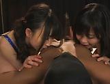 Hatsuki Nozomi and Aizawa Yurina  in kinky hardcore fuck picture 12