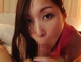 Kinky Mochizuki Yuna an experts in cock sucking