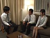 Office lady Ootsuki Hibiki gets a cumshot picture 3