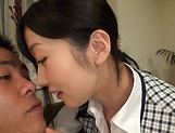 Office lady Ootsuki Hibiki gets a cumshot picture 6