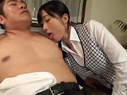 Ootsuki Hibiki gets naughty on a bulging shaft