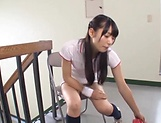 Wasa Yatabe pleases with her feet and mouth