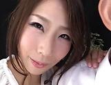 Shinoda Ayumi looks sexy in stockings