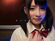 Amateur schoolgirl Japanese POV by Hakii Haruka