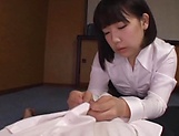 Young Asian teen blows cock in sloppy modes picture 4