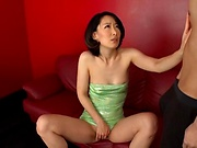 Itou Eri, enjoys her tight cunt stretched