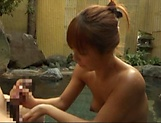Amateur woman, Kurata Hiromi is sucking picture 14