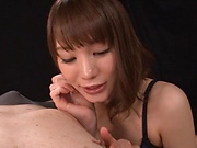 Suzumura Airi sensational blowjob and cock riding