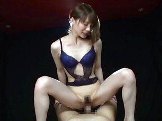Suzumura Airi sensational blowjob and cock riding