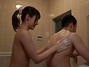 Ayami Shunka is being very naughty