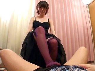 Kinoy foot fetish oral play for a smashing Japanese woman