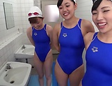 Kinky POV session involving alluring Japanese beauties picture 11