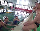 Kinky POV session involving alluring Japanese beauties