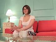 Oshikawa Yuuri gets her juicy large melons caressed