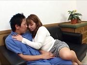 Charming Kazama Yumi fucked in dazzling ways