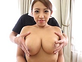Hot babe Uchiyama Mai knows how to handle hard poles picture 4