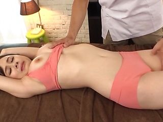 Japanese milf Yoshikawa Aimi gets her big tits squeezed and fucked