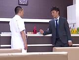 Massage turns really nasty for sleazy Chie Nakamura
