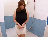 Horny Chie Nakamua gives guy an erection picture 3