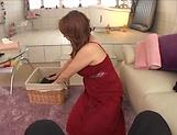 Busty Kazama Yumi amazes in full POV porn play