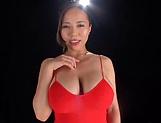 Big tits milf Saijou Ruri in kinky toy fun indoors