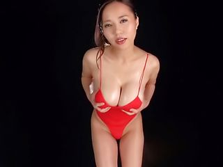 Big tits milf Saijou Ruri in kinky toy fun indoors