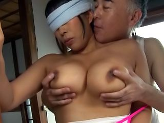Spicy hottie Nozomi Mikimoto featured in an softcore sex