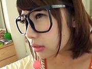 Kirishima Sakura, gets a messy facial