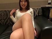 Kirishima Sakura enjoys having her cunt drilled