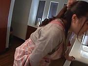 Yurai Chitose likes stand fucking a lot